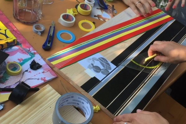 Tape Art Workshops